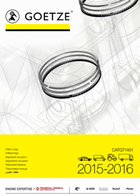 Goetze piston rings catalogue